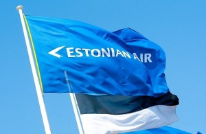 Флаг эстонской авиакомпании