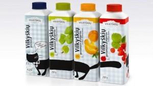 молочная продукция от литовского производителя