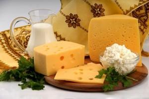 Различные виды сыра из Вильнюса