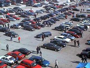 Утенский автомобильный рынок