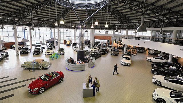 Автомобильный центр в Риге