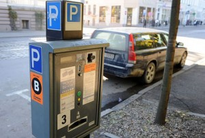 Платежный автомат для парковки