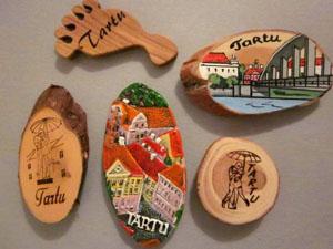 Сувениры в магазинах Тарту