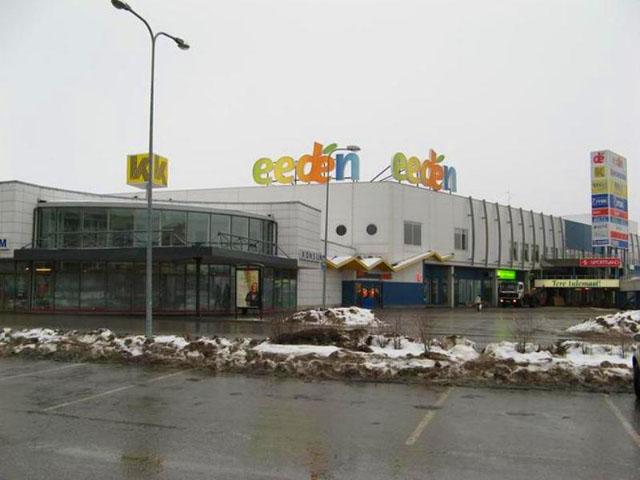 Еeden - здание торгового центра в Тарту