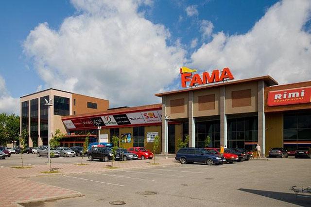 Здание торгового центра Fama