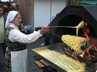 Как делают торт Шакотис