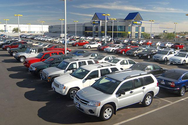 Небольшие автомобильные рынки Литвы