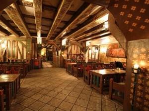 Интерьер ресторана Pie Kristapa kunga
